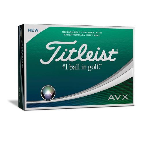 Titleist AVX Golf Balls 2018 (White/ Dozen) Offer!