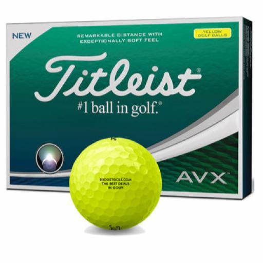 Titleist AVX Golf Balls (Yellow/ Dozen) Offer!